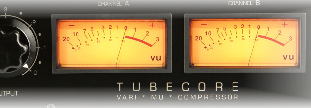 High-end-mastering with the Tubecore mix- and mastering-compressor